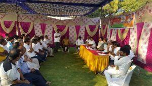 Mysore PM rally Prep
