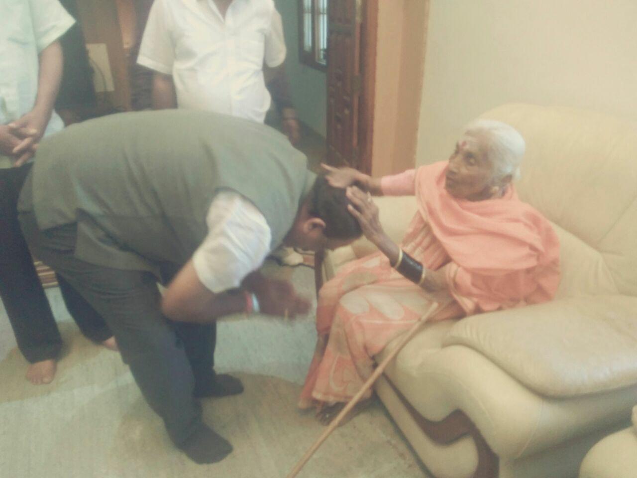 bow to elders